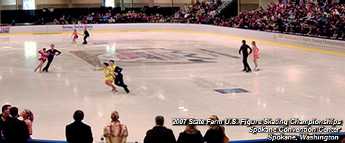 2007 State Farm U.S. Figure Skating Championships; Spokane Convention Center; Spokane, Washington