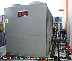 Used Air-Cooled Refrigeration System