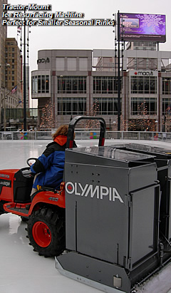 Tractor-Mount Ice Resurfacing Machine Perfect For Smaller Seasonal Rinks